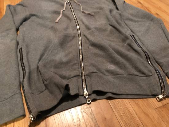 Balmain Balmain Sweatshirt Light Grey Zip Up Size US L / EU 52-54 / 3 - 1
