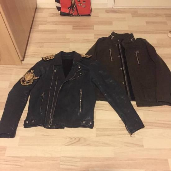 Balmain LAST DROP**Balmain Navy Biker Jacket Size US M / EU 48-50 / 2 - 1