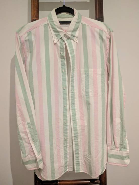 Thom Browne Thom Browne Striped Button Up Shirt Size US XL / EU 56 / 4
