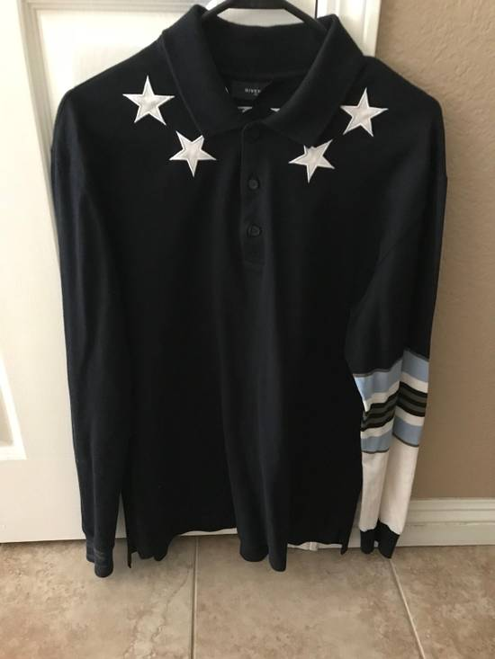 Givenchy Givenchy Star Striped Polo Size US L / EU 52-54 / 3