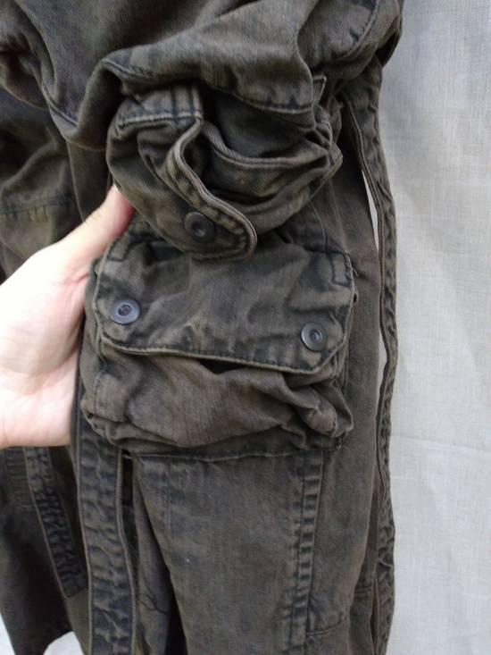 Julius Green Denim Gas Mask Cargo Pants s/s 13 Size US 29 - 3