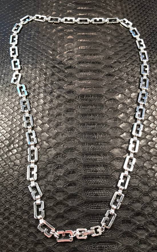 "Givenchy 22"" Silver Twist Chain Size ONE SIZE"