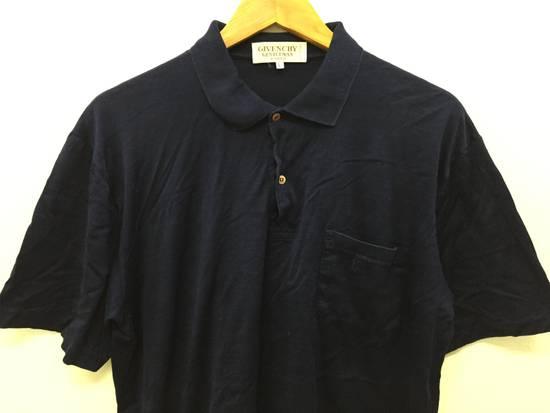 Givenchy 80's GIVENCHY embroidered logo pocket polo t shirt Size US S / EU 44-46 / 1 - 2