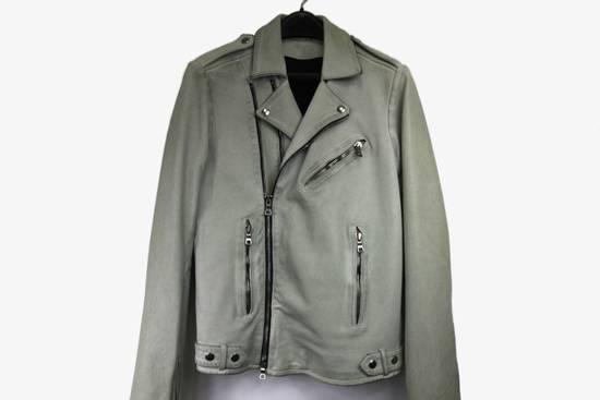 Balmain $4k Balmain White Leather Perfecto Biker Jacket 48 46 Size US M / EU 48-50 / 2 - 8
