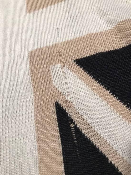 Balmain Union Jack Sweater beige/blk Size US XL / EU 56 / 4 - 6