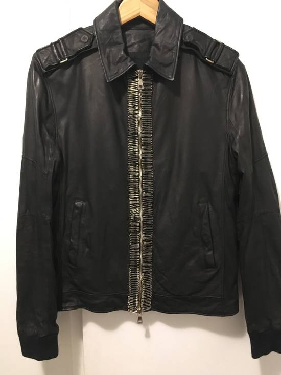 Balmain Safety Pin Biker Jacket Size US S / EU 44-46 / 1 - 1