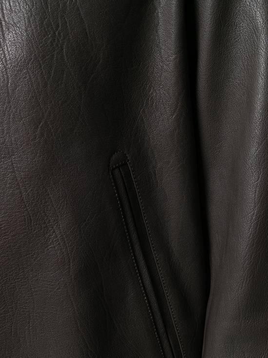 Thom Browne NWT, Striped Detail Leather Jacket (SIZE 4) Size US XL / EU 56 / 4 - 6