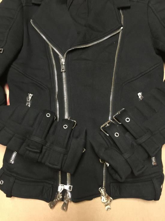 Balmain Balmain Cotton Biker Jacket Size US XS / EU 42 / 0 - 5
