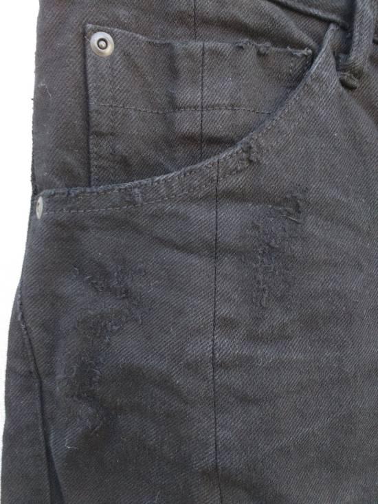 Julius Black Curved Seam Jeans Size US 30 / EU 46 - 4