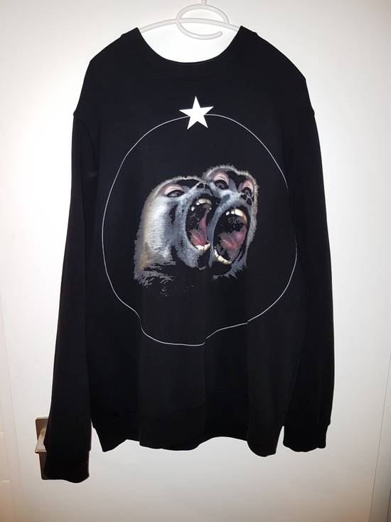 Givenchy Black Monkey Brothers Sweatshirt Size US XL / EU 56 / 4