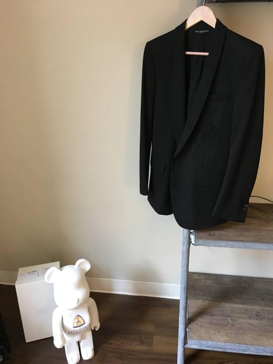 Balmain Decarnin-era Shawl Collar Wool Blazers Size 46R