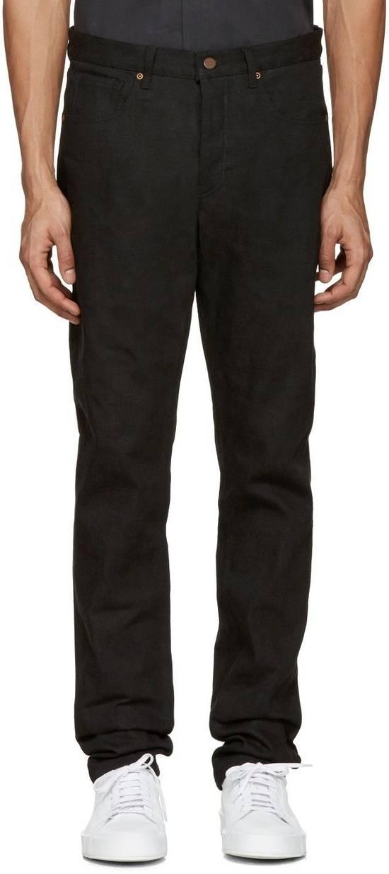 Thom Browne Black Denim Jeans MSRP $600 Size US 29