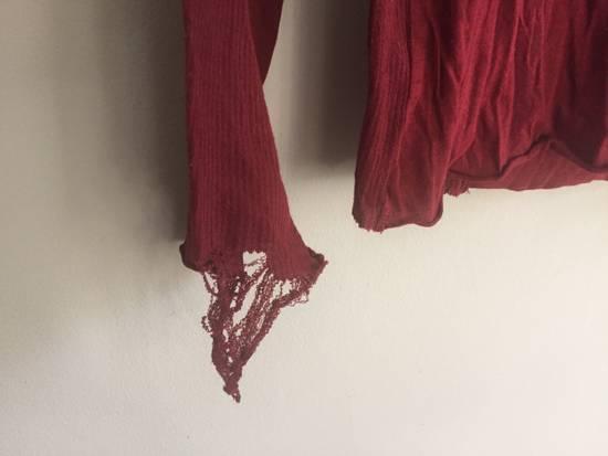 Julius SS09 Cotton/Silk Distressed Longsleeve Size US S / EU 44-46 / 1 - 3
