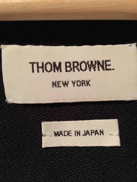 Thom Browne Thom Browne Classic Striped Navy Blue Hoodie Size US L / EU 52-54 / 3 - 8