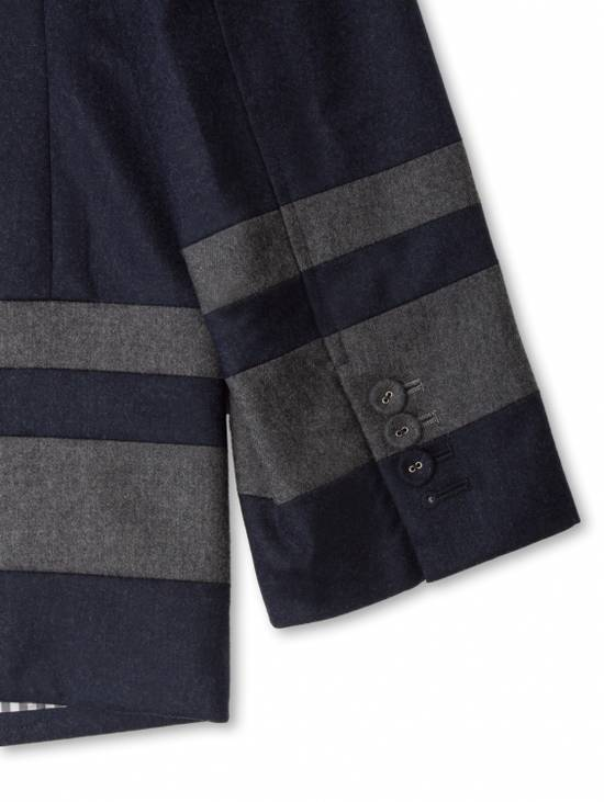 Thom Browne Paneled Chapel Jacket- Flannel Size US S / EU 44-46 / 1 - 7