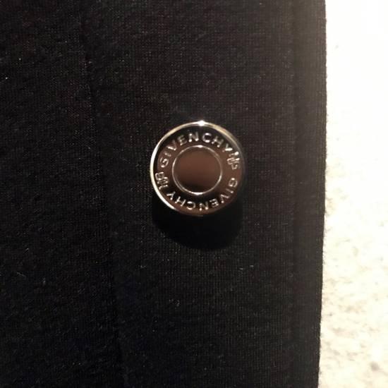 Givenchy Grey / Black Neoprene Layered Coat Size US M / EU 48-50 / 2 - 4