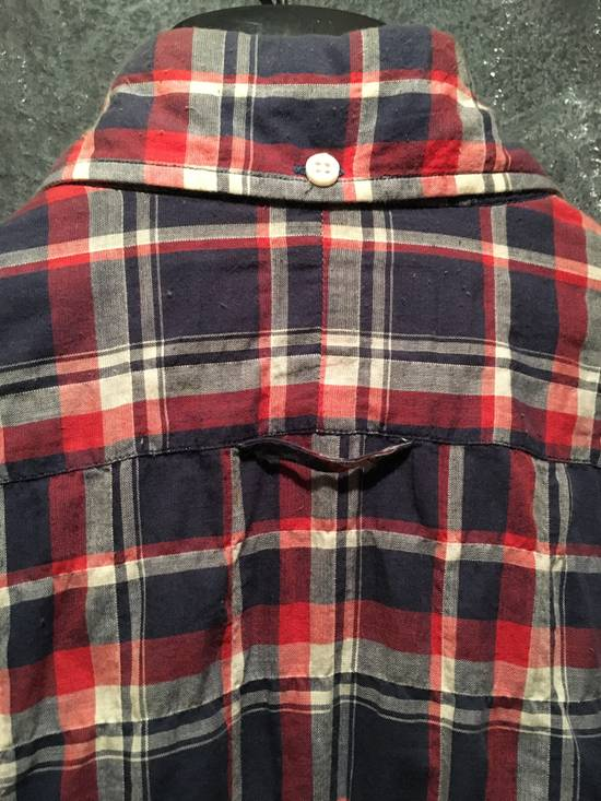 Thom Browne Plaid Madras Shirt Small Medium Size 1 Size US S / EU 44-46 / 1 - 2