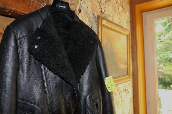 Balmain AW12/13 Shearling Biker Jacket Size US M / EU 48-50 / 2 - 8