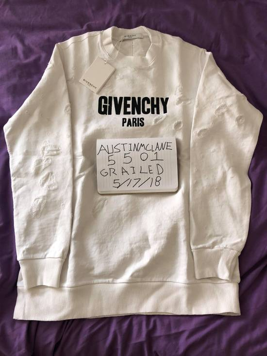 Givenchy Givenchy Distressed Sweatshirt Size US L / EU 52-54 / 3