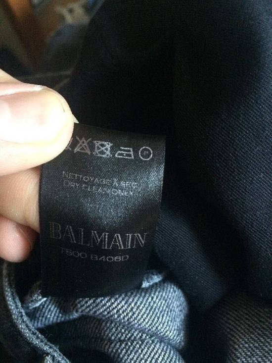 Balmain Balmain Authentic $990 Biker Jeans Size 27 Slim Fit Brand New With Tags Size US 27 - 4