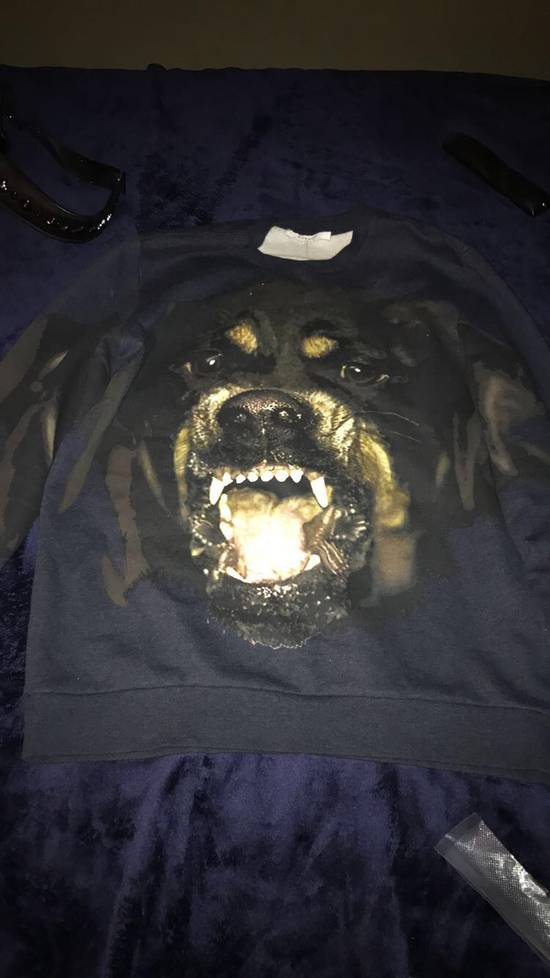 Givenchy Navy Givenchy Rottweiler sweater Size US L / EU 52-54 / 3