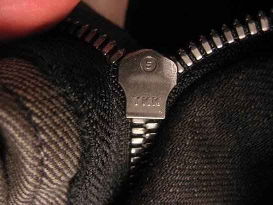 Balmain Classic Moto Jeans Made in Japan Style No. W4HT551C710W Black Coated Skinny Stretch Denim Biker Pants 32 x 32 Size US 32 / EU 48 - 12