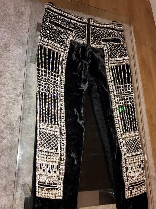 Balmain Balmain Fall 2012 Swarovski Crystal Fabergé Trouser Size US 32 / EU 48 - 11