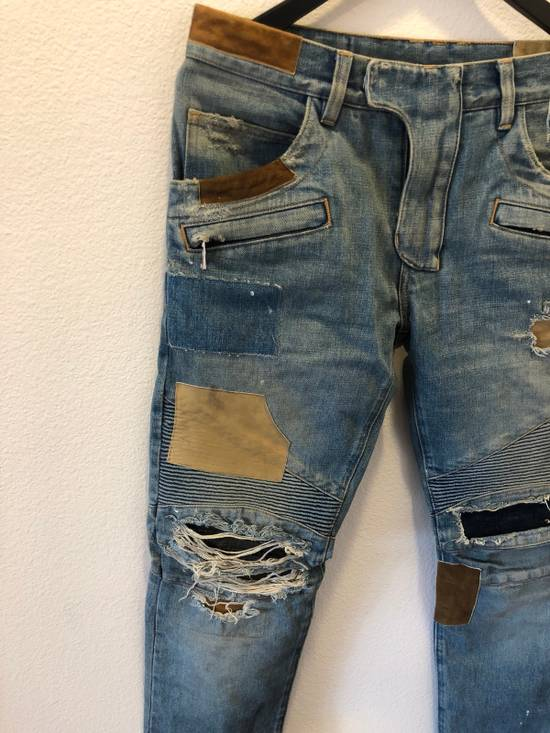 Balmain Patchwork Jeans Size US 30 / EU 46 - 1