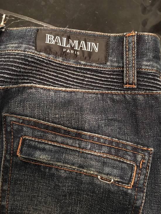 Balmain Biker Jeans Size31 Size US 31 - 1