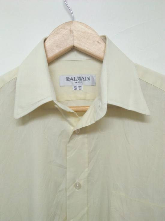 Balmain Yellow button up Size US S / EU 44-46 / 1 - 1