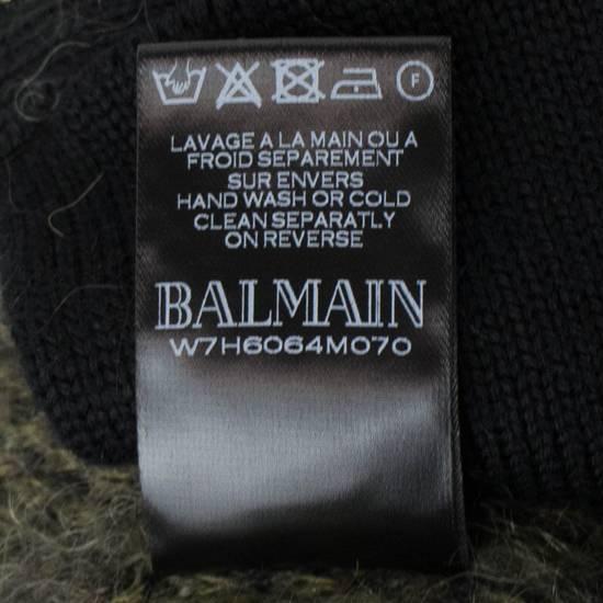 Balmain Camouflage Wool Blend Zip Up Hoodie Size M Size US M / EU 48-50 / 2 - 9
