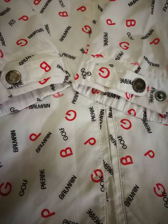 Balmain Vintage Balmain Windbreaker Jacket Fullprint Size US S / EU 44-46 / 1 - 3