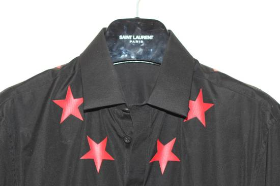 Givenchy Red Star Applique Shirt Size US S / EU 44-46 / 1 - 1