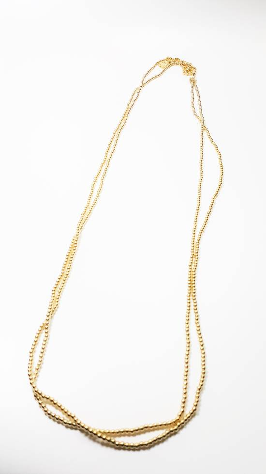 Givenchy Necklace dual strand gold plated Size ONE SIZE - 5