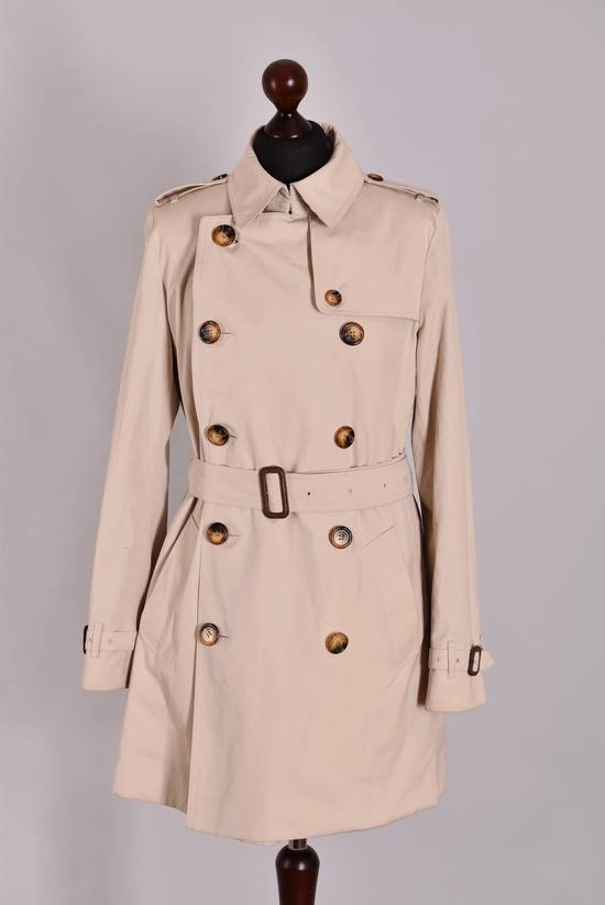 Burberry Women s Burberry London Double Breasted Classic Trench Coat Jacket  Size UK 12 USA 10 Genuine ... afb1d72c67