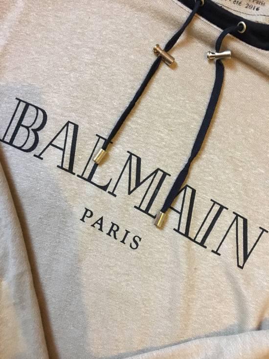 Balmain Balmain Beige Logo Hoodie Size US XS / EU 42 / 0 - 1