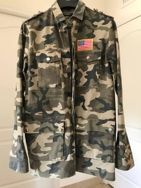 Balmain Military Camo Jacket . Size US M / EU 48-50 / 2