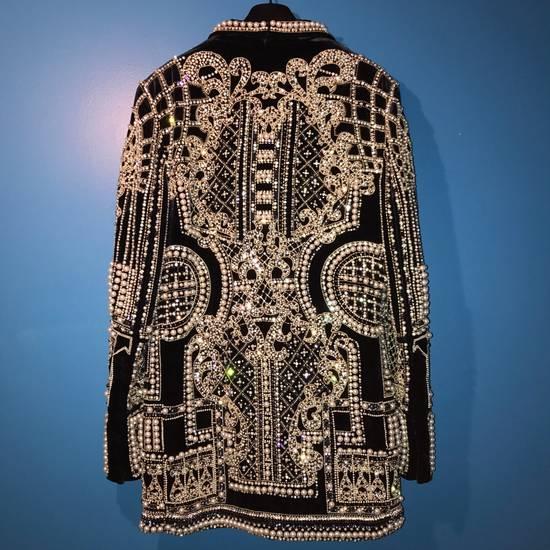 Balmain Balmain Fall 2012 Swarovski Crystal & Pearl Fabergé Tuxedo Size US XXL / EU 58 / 5 - 10