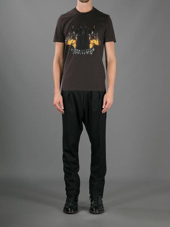 Givenchy Brown Doberman Print T-shirt Size US S / EU 44-46 / 1 - 2