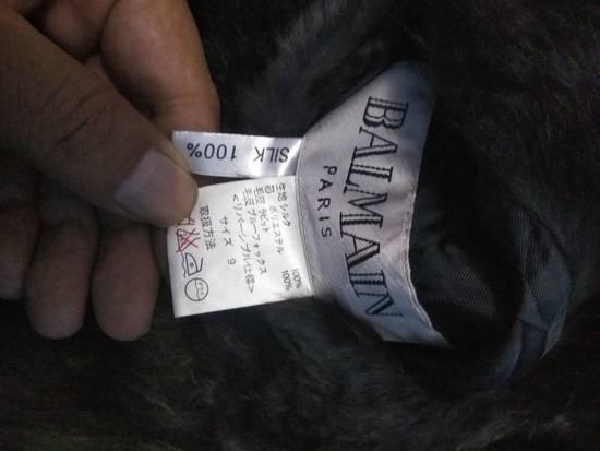 Balmain Balmain foux furr jacket reversible rare Size US L / EU 52-54 / 3 - 4