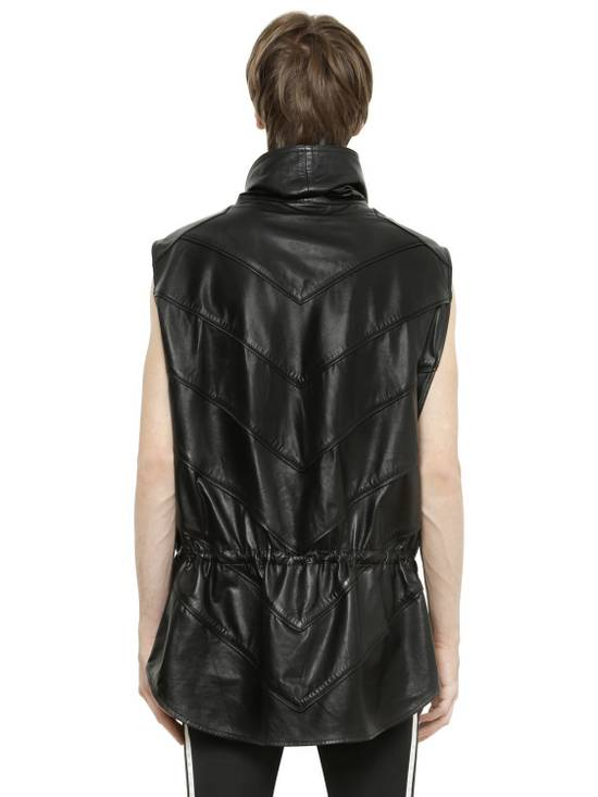 Balmain Balmain Sleeveless Leather Black Authentic $4890 Poncho Size L New Size US L / EU 52-54 / 3 - 2