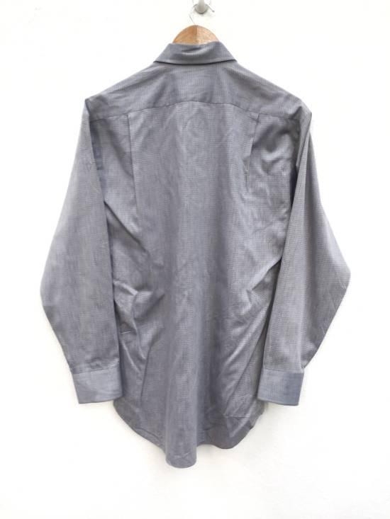 Balmain Plaid Single Pocket Button Up Shirt Size US M / EU 48-50 / 2 - 2