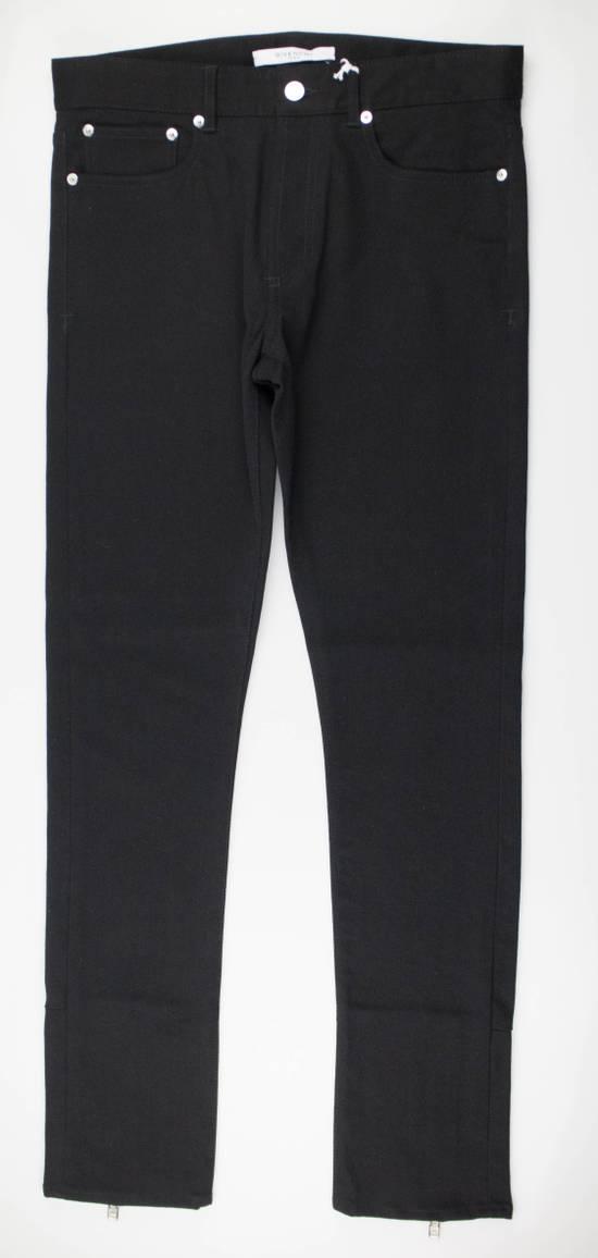 Givenchy Black Cotton Blend Denim Jeans Pants Size US 30 / EU 46
