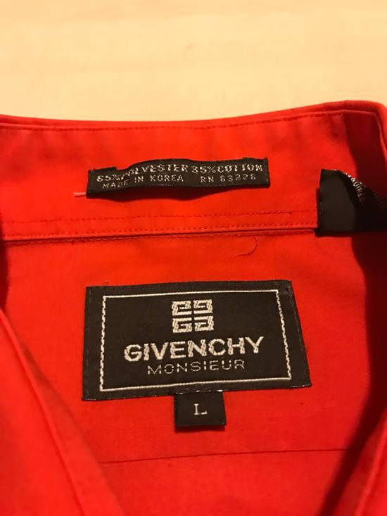 Givenchy Red Button Up Shirts Size US L / EU 52-54 / 3 - 2