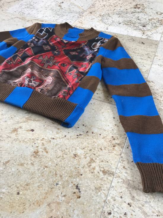 Givenchy Runway Printed Knit Sweater Size US XS / EU 42 / 0 - 7