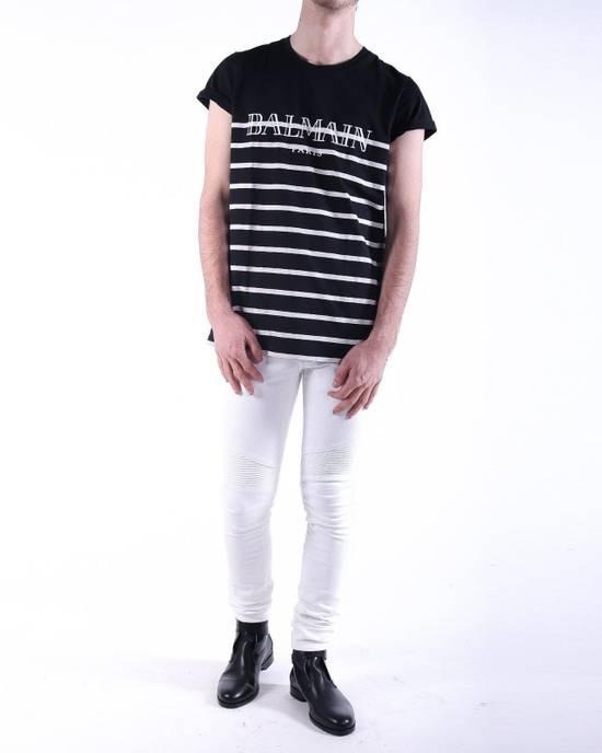 Balmain Balmain White Biker Skinny Authentic $1000 Jeans Size 32 Size US 32 / EU 48 - 2