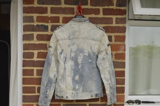 Balmain Light Blue Distressed Denim Jacket Size US M / EU 48-50 / 2 - 10