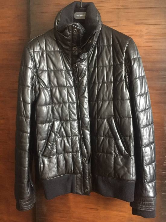 Balmain Balmain Homme Rare Leather Puffer List $6590 Size US S / EU 44-46 / 1 - 1