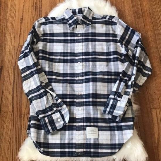Thom Browne Thom Browne Madras Plaid Cotton Shirt Size US M / EU 48-50 / 2 - 5
