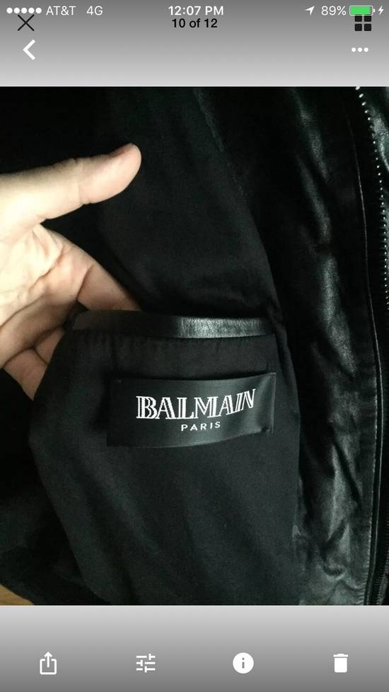 Balmain Balmain Homme Rare Leather Puffer List $6590 Size US S / EU 44-46 / 1 - 5